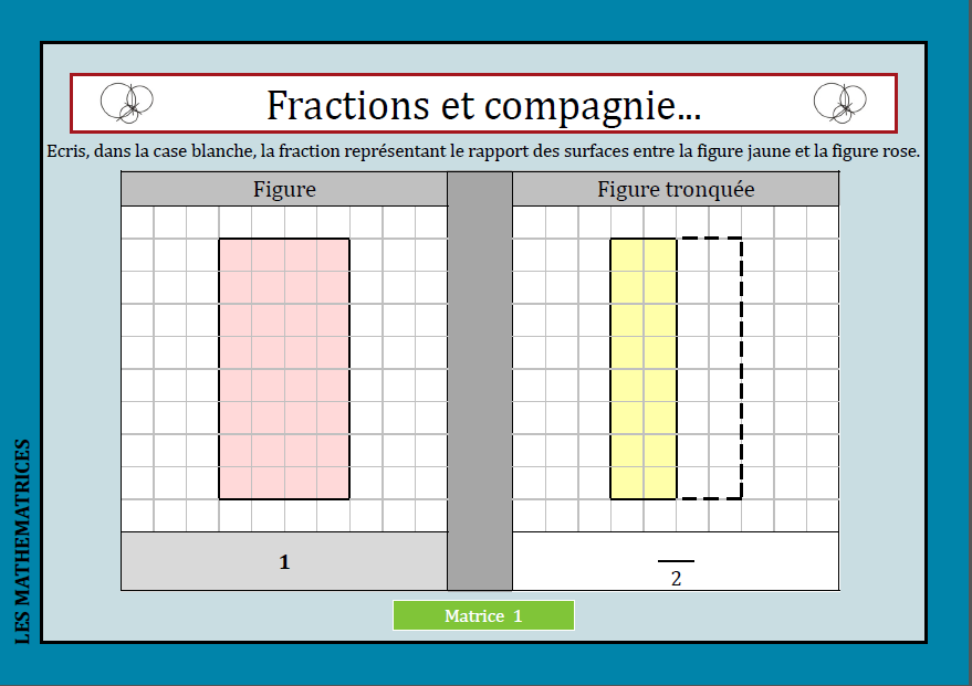 Fractions et compagnie